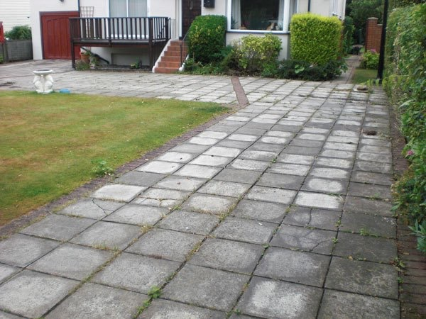 Old driveway in Shepperton