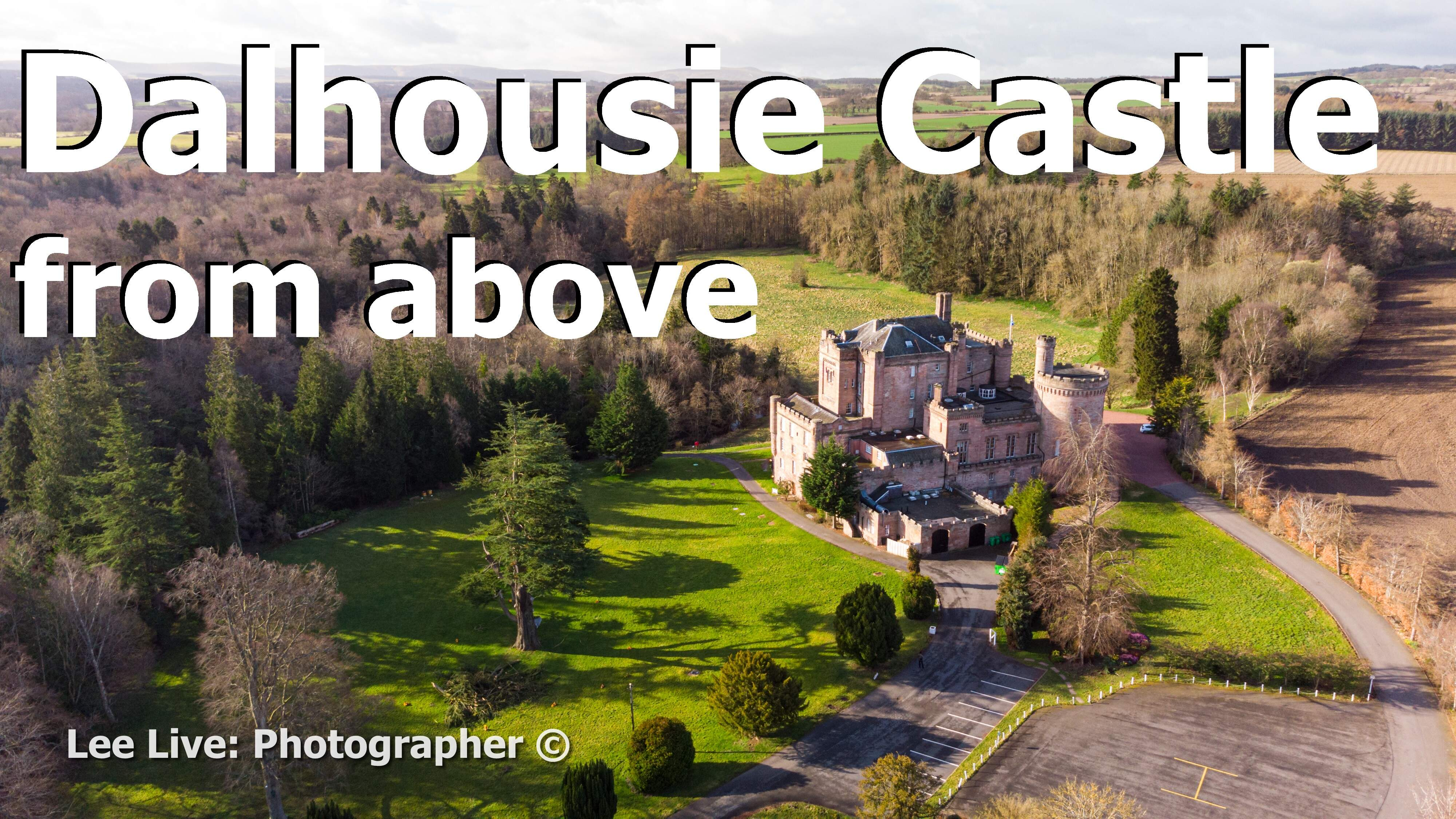 Aerial Drone Videography: Dalhousie Castle