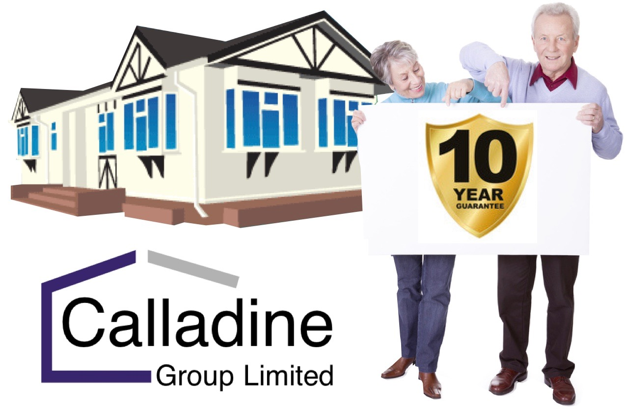 Park Home Refurbishment Specialists Calladine Limited offer a 10 year guarantee on all their work