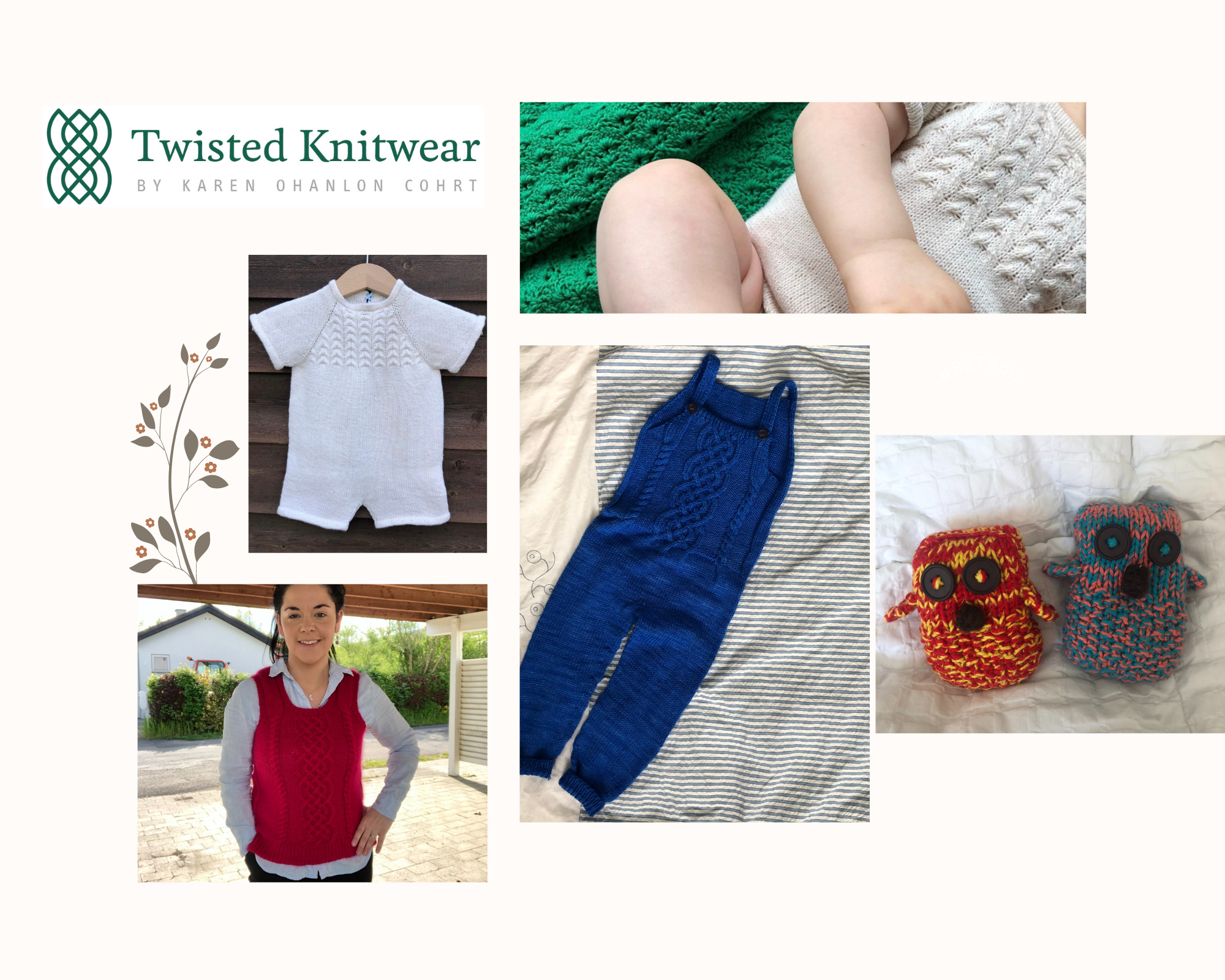 Modern knitwear with inspiration from Ireland Twisted Knitwear is the journey of Karen OHanlon Cohrt an Irish woman 2png