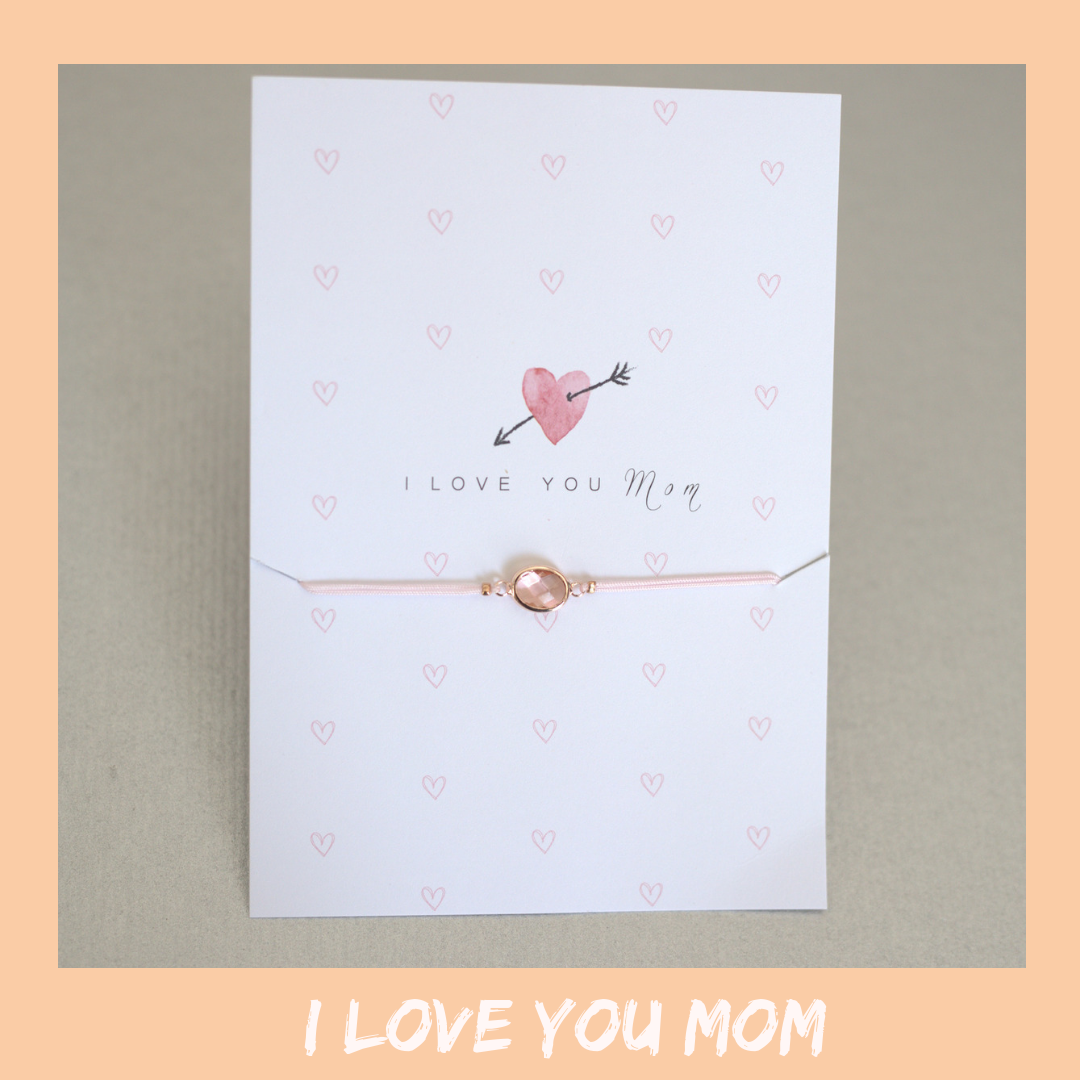 Bracelet Card - Love you Mum