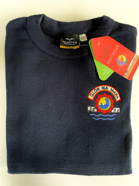 GNM Crested Navy Jumper