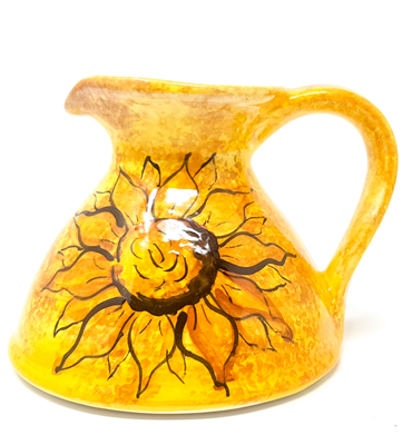 Sunflower Flat Based Jug from the Verano Range