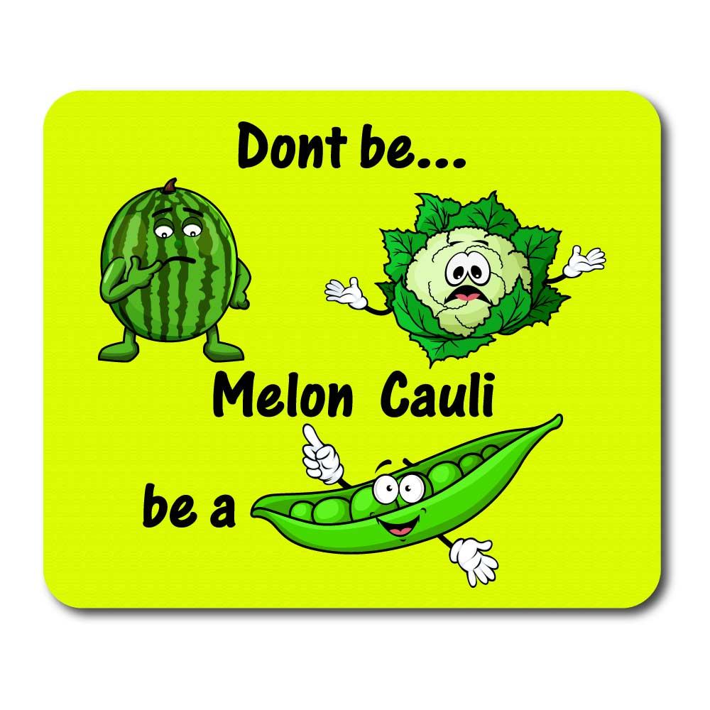 Mousemat with Melon Cauli Logo