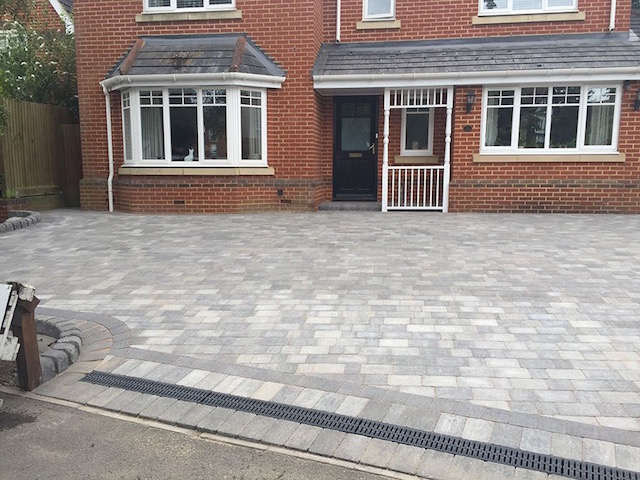 New driveways in Windsor by BPS
