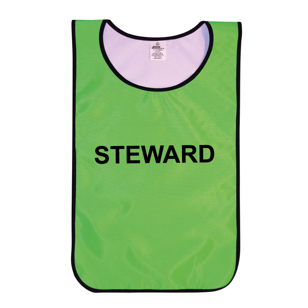 Hi Vis Steward's Tabards