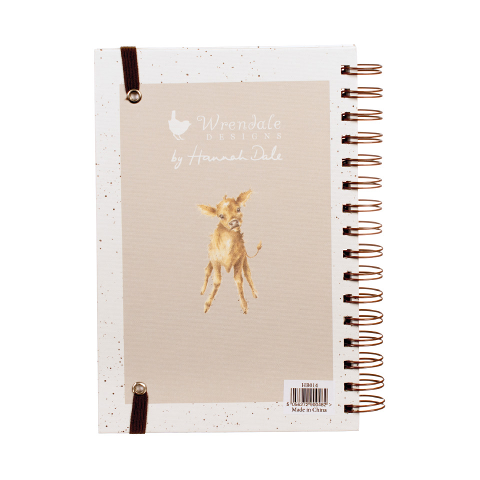 'Mooo' Notebook by Wrendale Designs