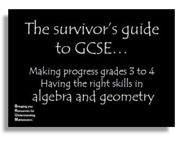 Algebra and geometry target grade 4