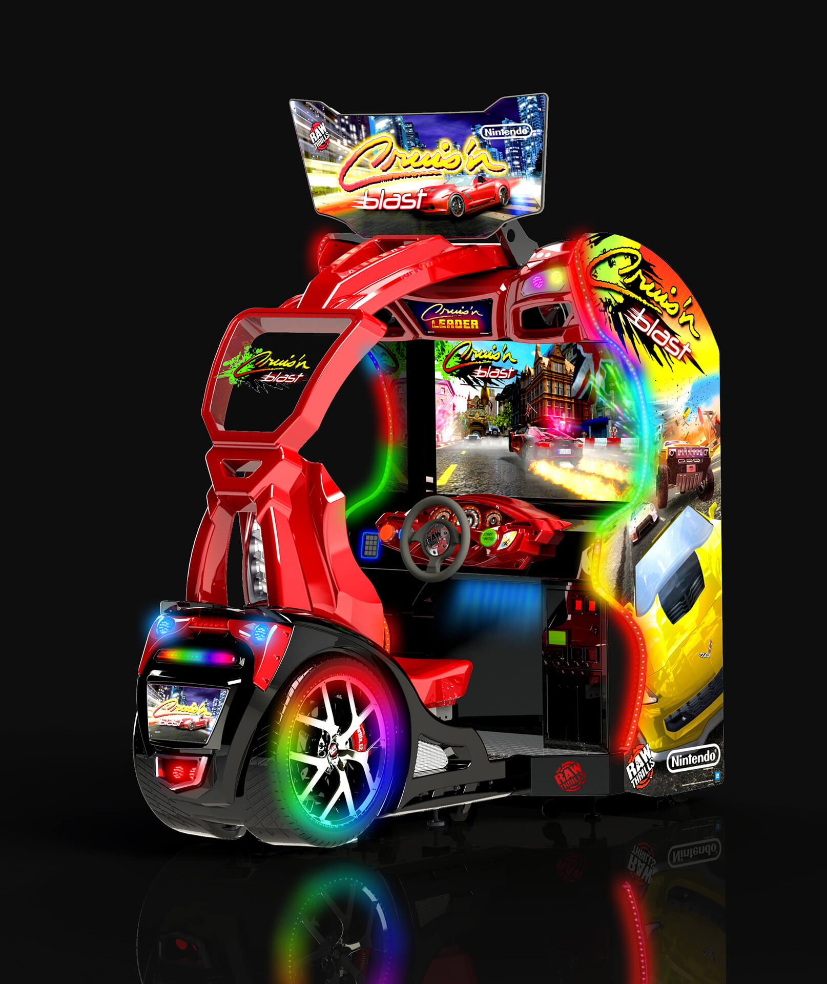 "Racing game ""Cruisin blast"""