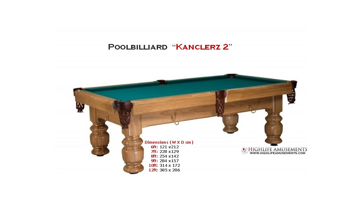 "Poolbilliard ""Kanclerz 2"""