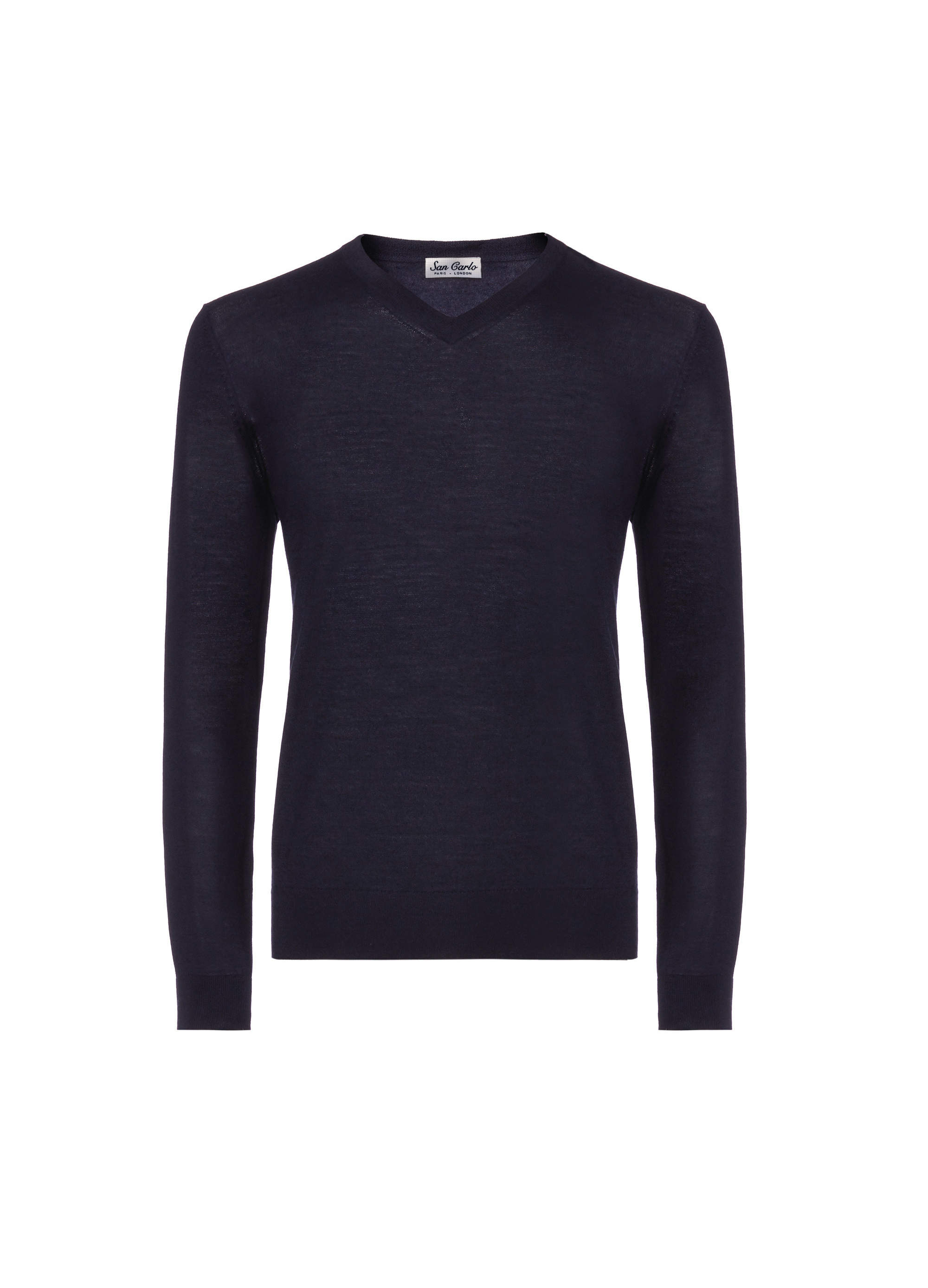 v-neck silk & cashmere navy 02.jpg