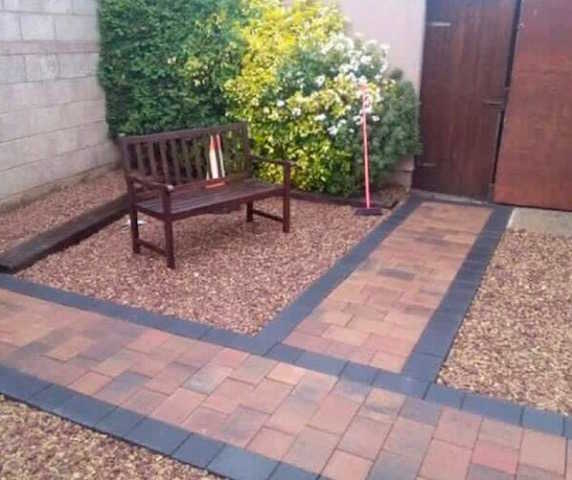 Patio builders Durham Oakdale Driveways
