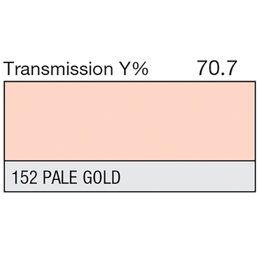 Lee 152 Pale Gold Roll