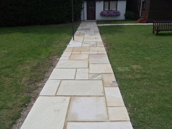 Path construction Egham