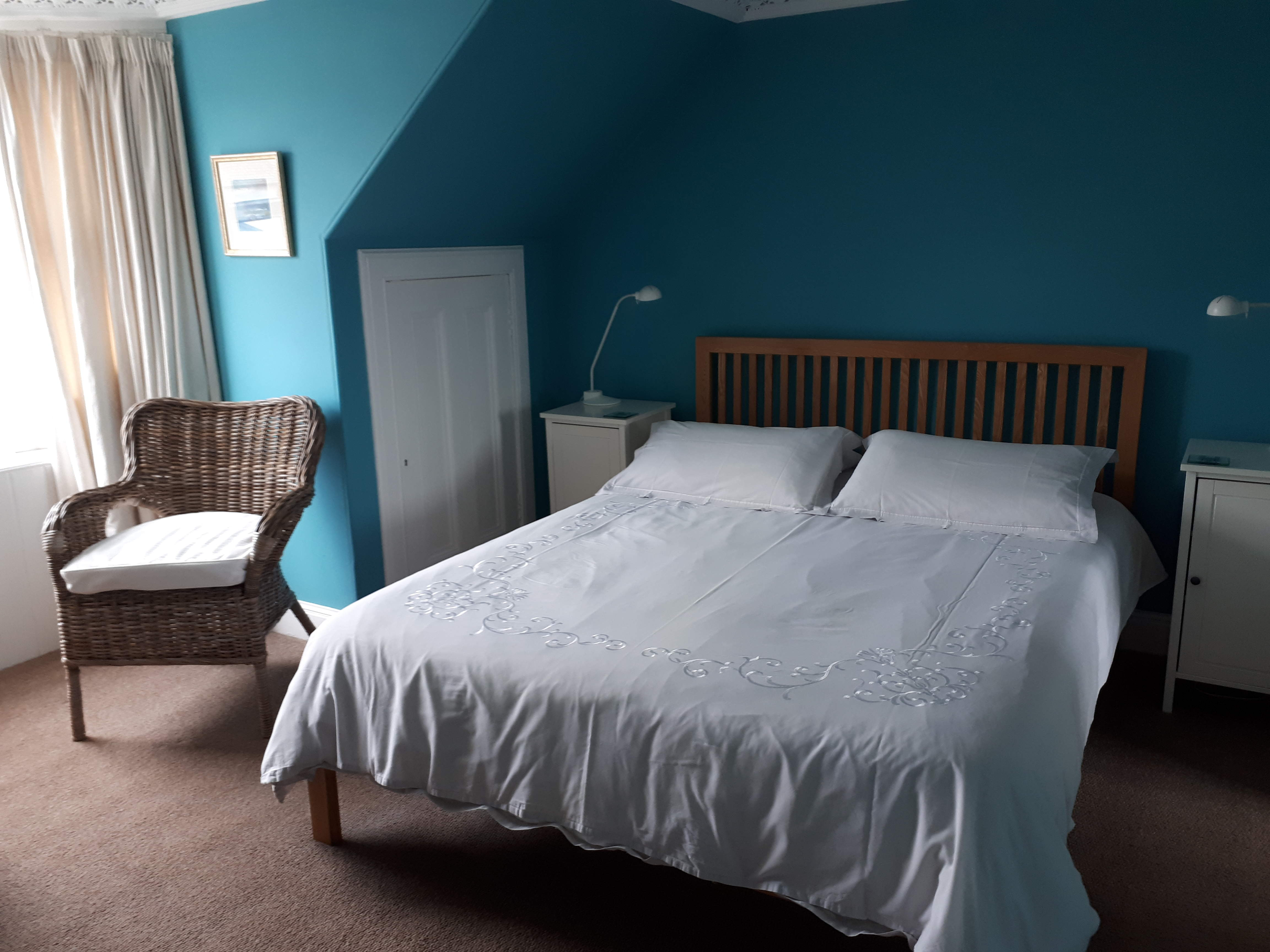Albert Cottage Fife Double Bedroom