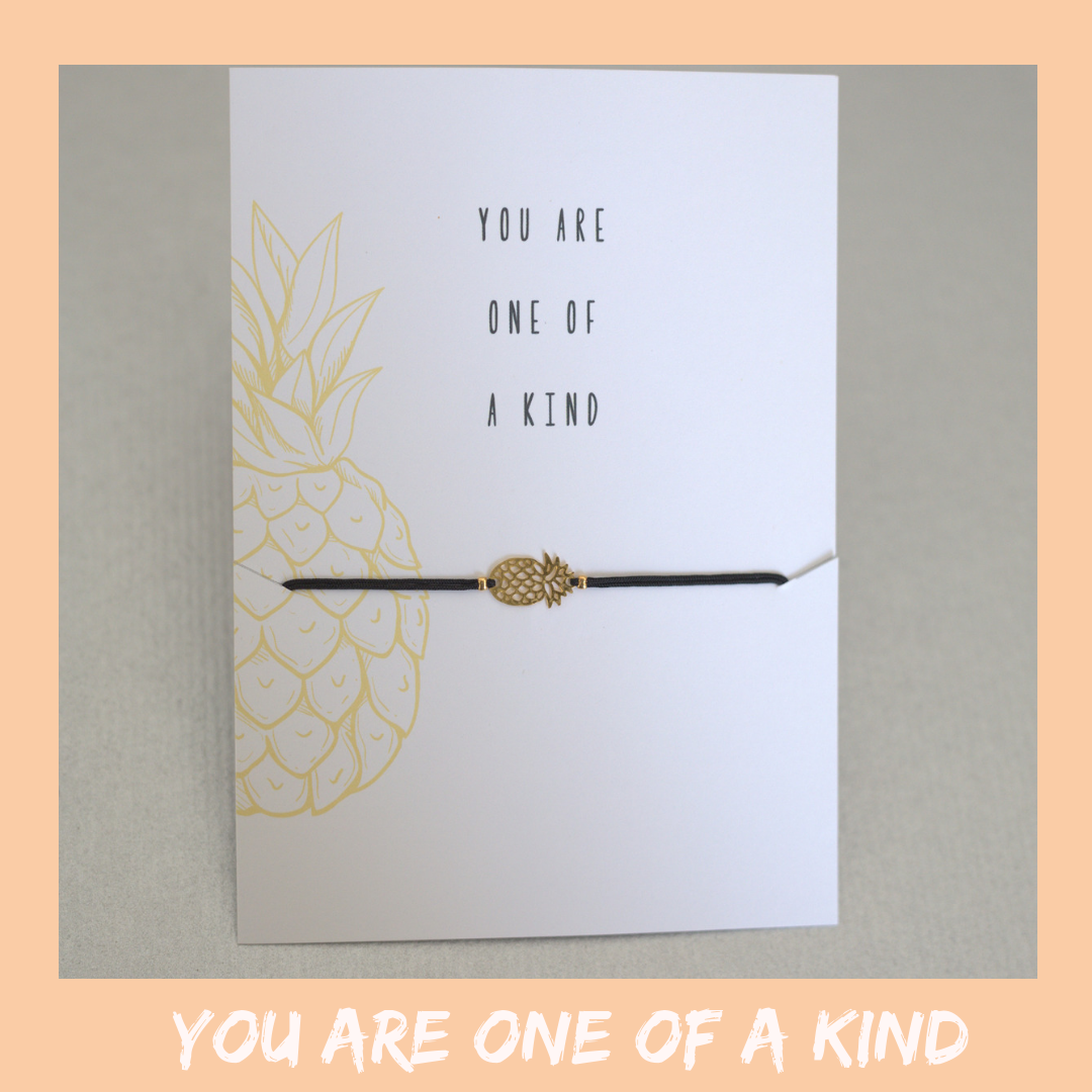 Bracelet Card- One of a Kind