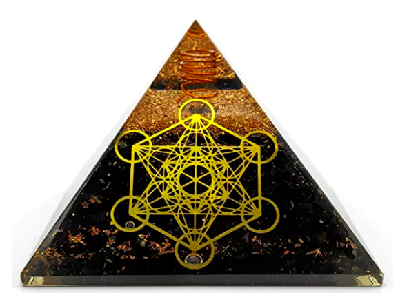 Tourmaline, Black Metatron Orgone Pyramid