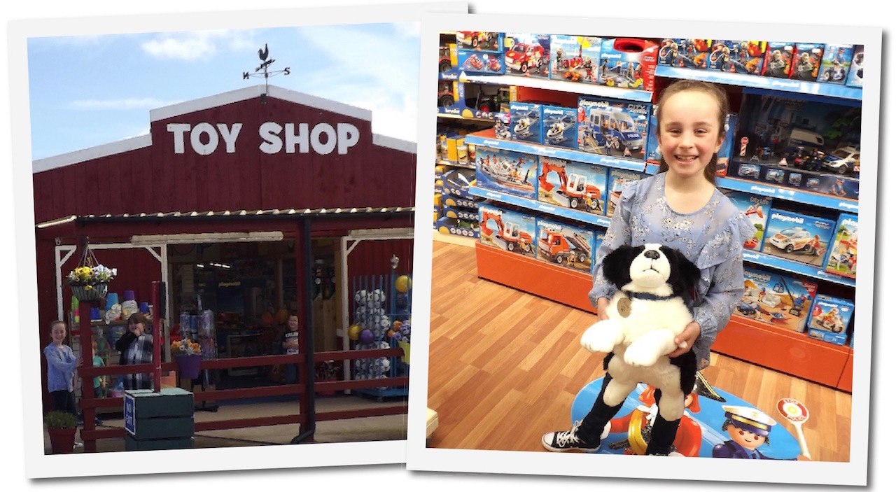 Dalscone Toy Shop stocks a huge selection of toys for children of all ages