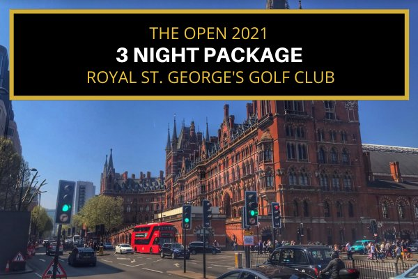 Attend the 2021 Open - London based - Saturday & Sunday (3 night package)