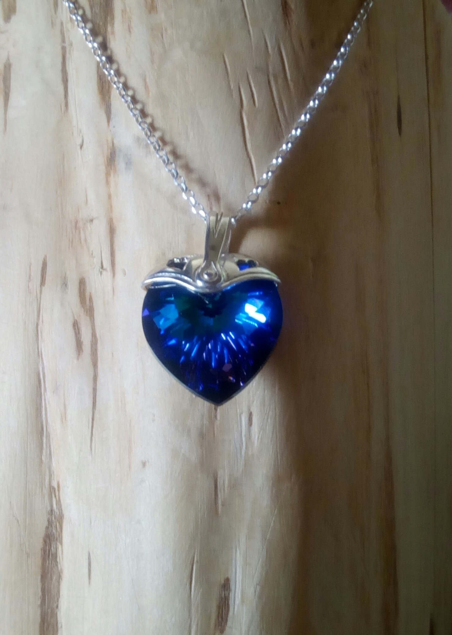 Sterling Sliver Topped Heart