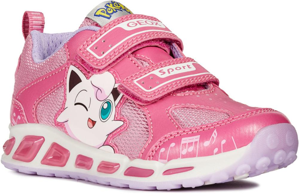 Pink toddler girl Pokemon trainers with Kitty motif