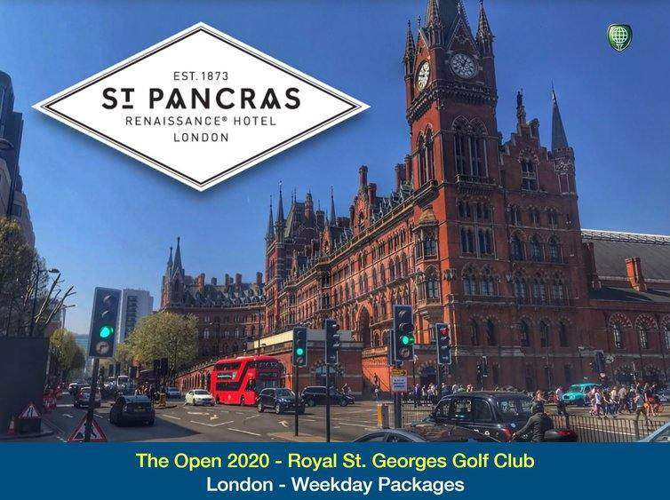 London based. Attend the 2020 Open - Thursday & Friday