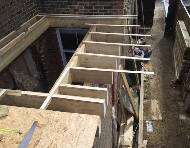 Extensions by SAS Roofing and Building Limited of Chessington Surrey