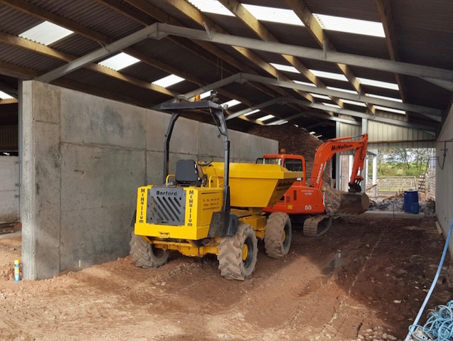 Agricultural building contractors Stranraer, McHallum Builders, offer a full range of farm building services.