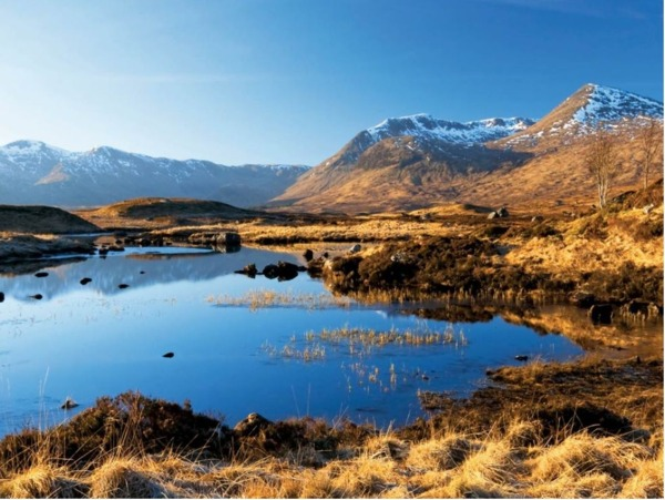 Rannoch-Moor-by-day-with-blue-sky