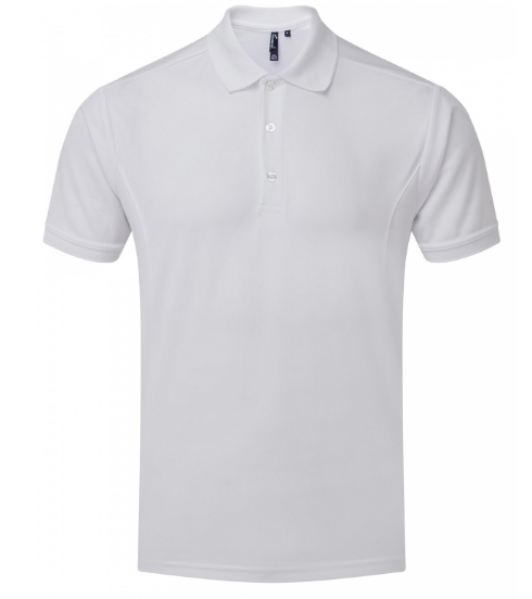 ANM Plain PE Shirt White (Unisex)