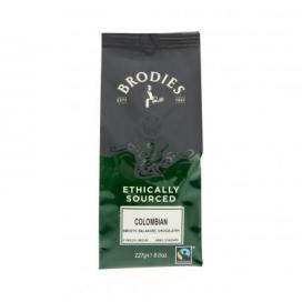 Brodies Melrose Fairtrade Colombian Ground Coffee 227g