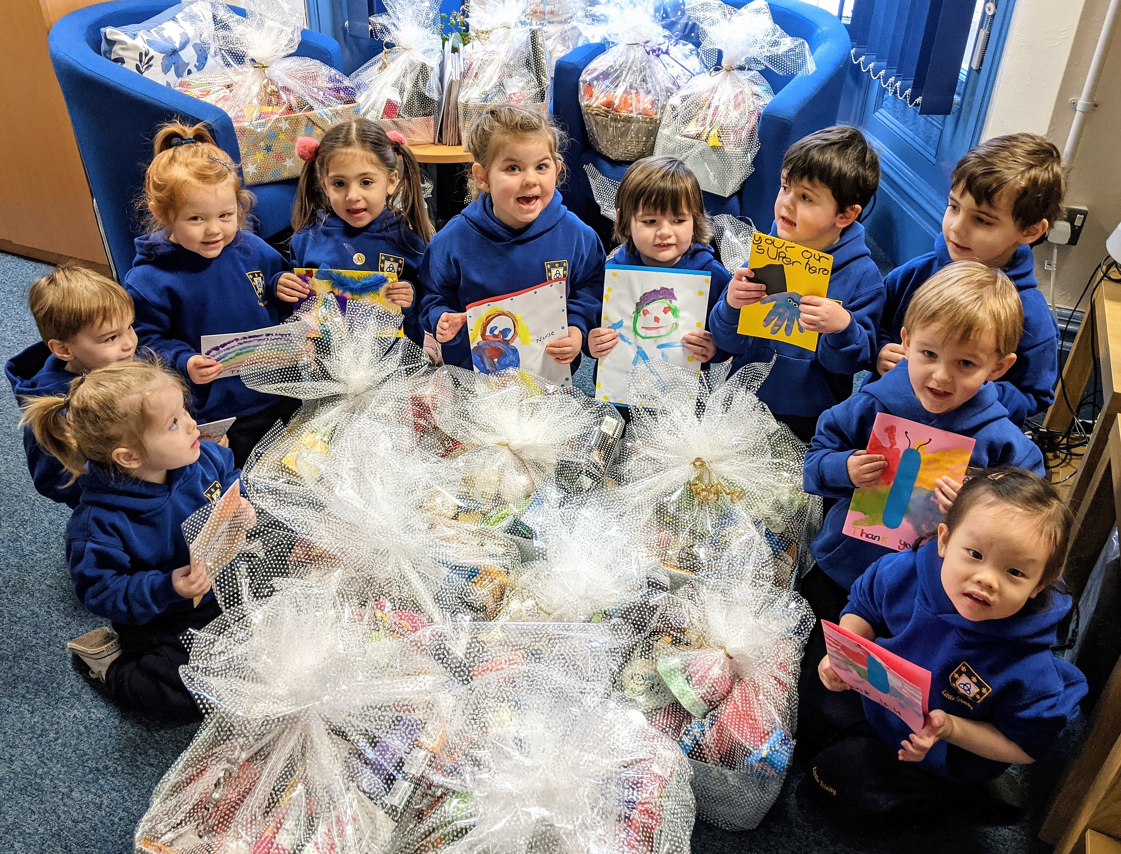Nursery's Random Acts of Kindness Day Generates NHS Donations