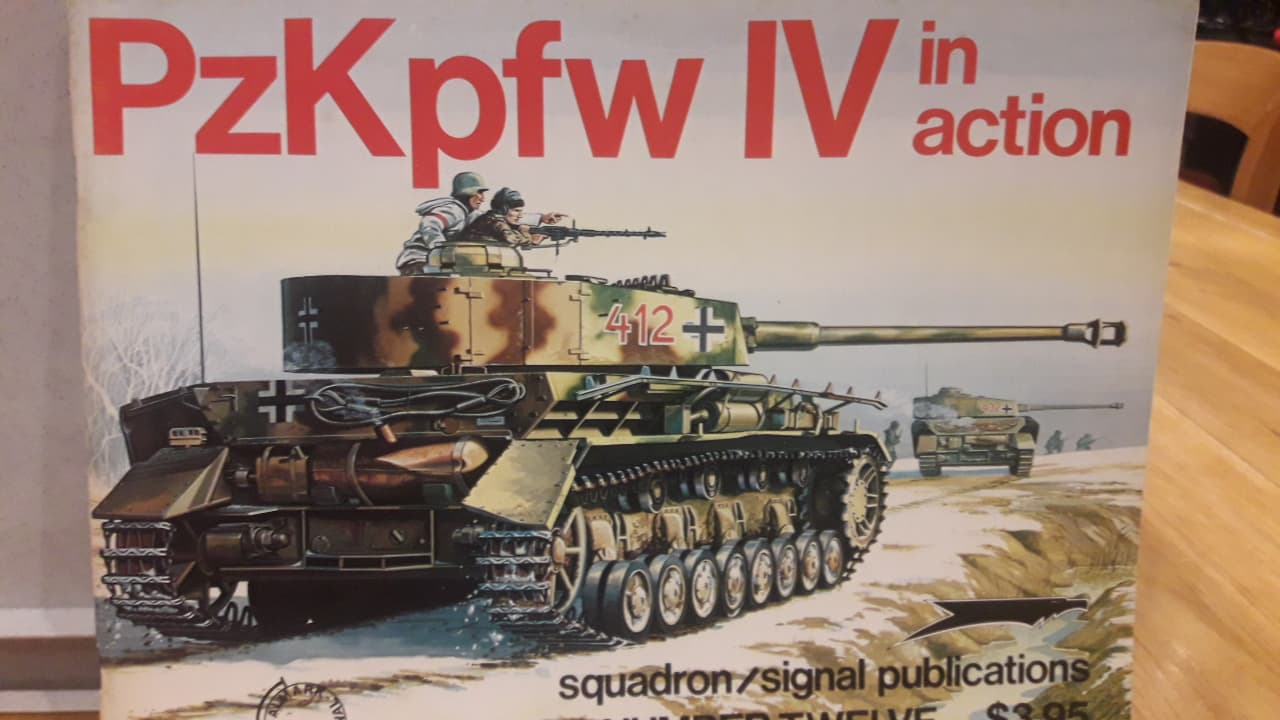 PzKpfw IV in action / squadron/signal publications