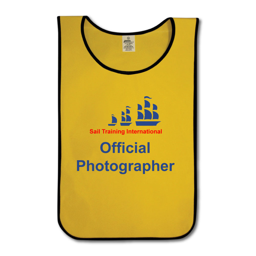 Custom Printed Promotions Tabards - Range of Colours & Sizes