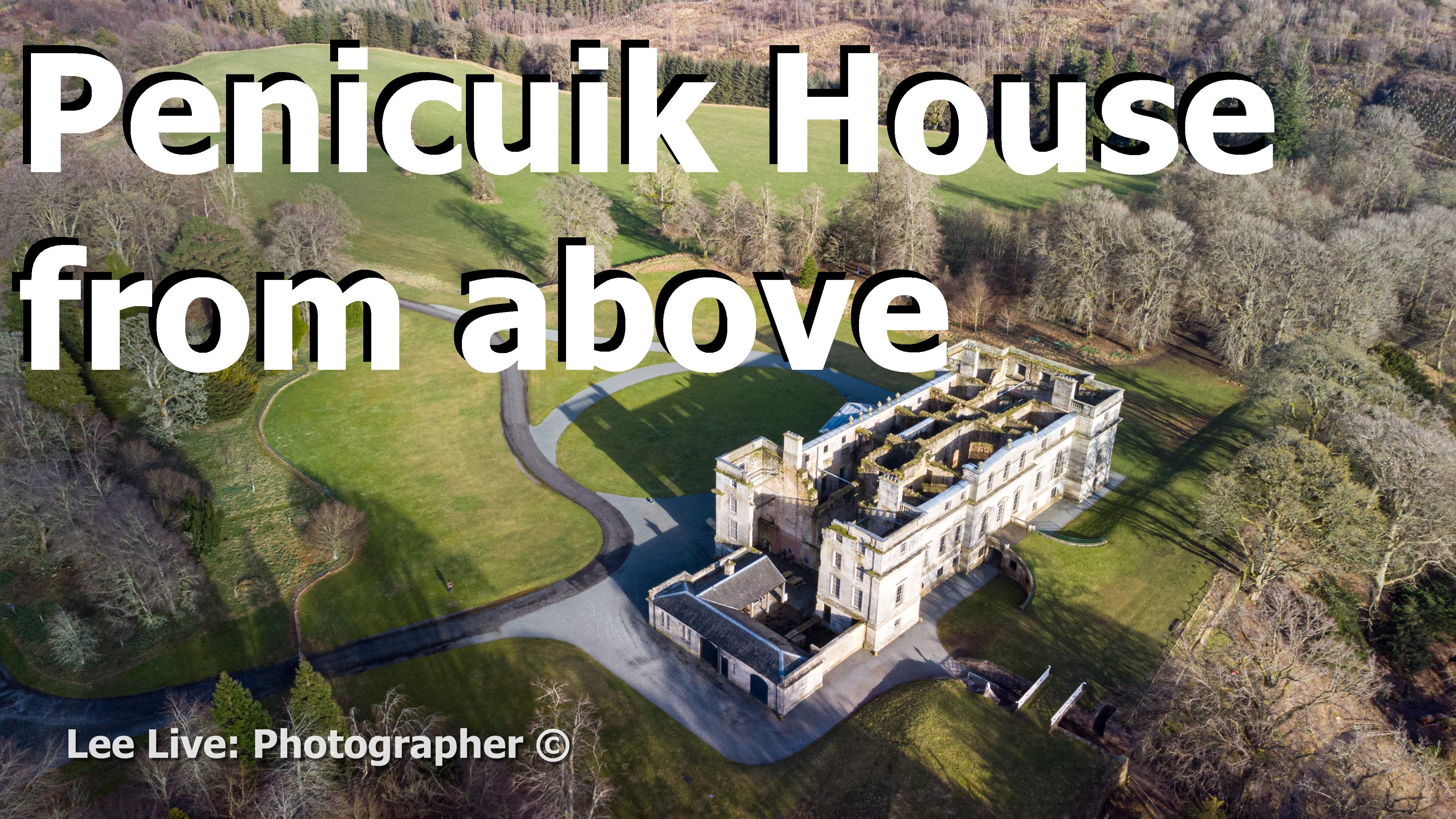 Aerial Drone Videography: Penicuik House