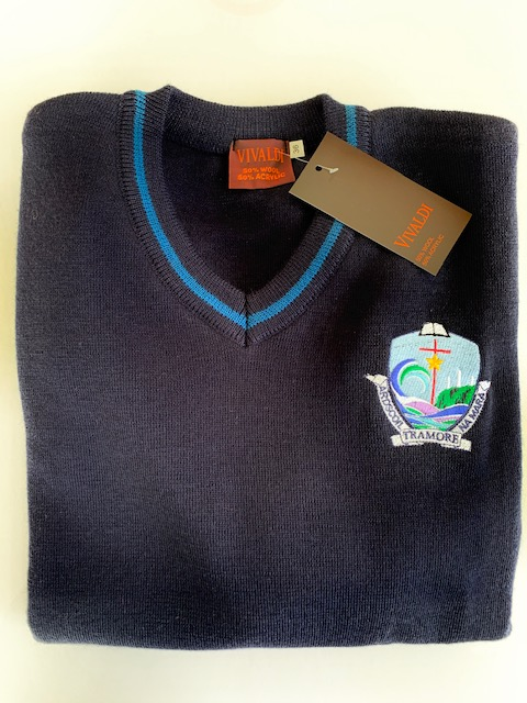 Crested Navy ANM Jumper TY & 5th Years