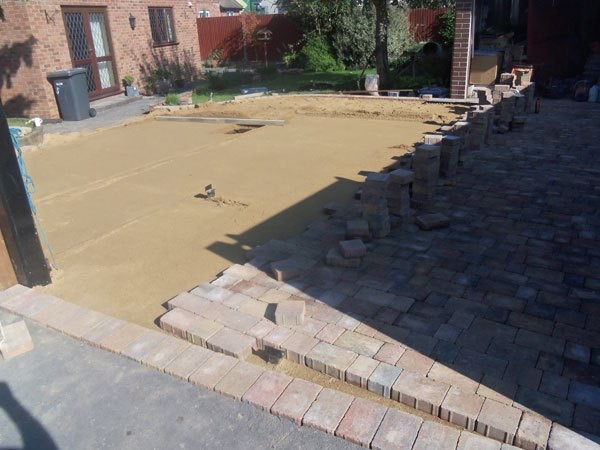 Block paving companies in Egham, Surrey