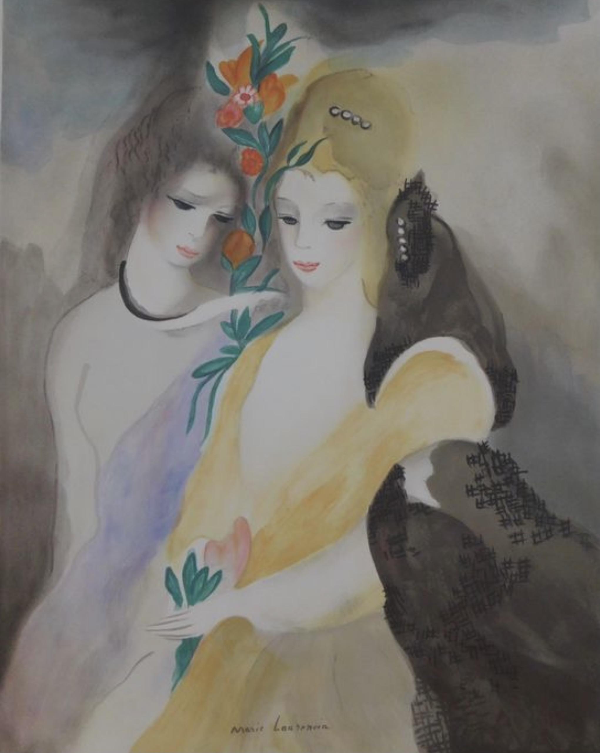 Marie Laurencin Filles avec Fleursjpg