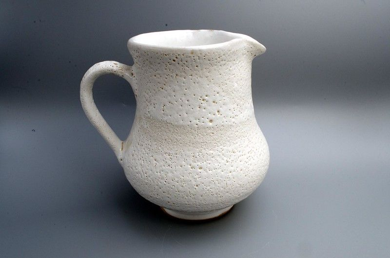 A large one-off volcanic glazed jug to show off at any occasion