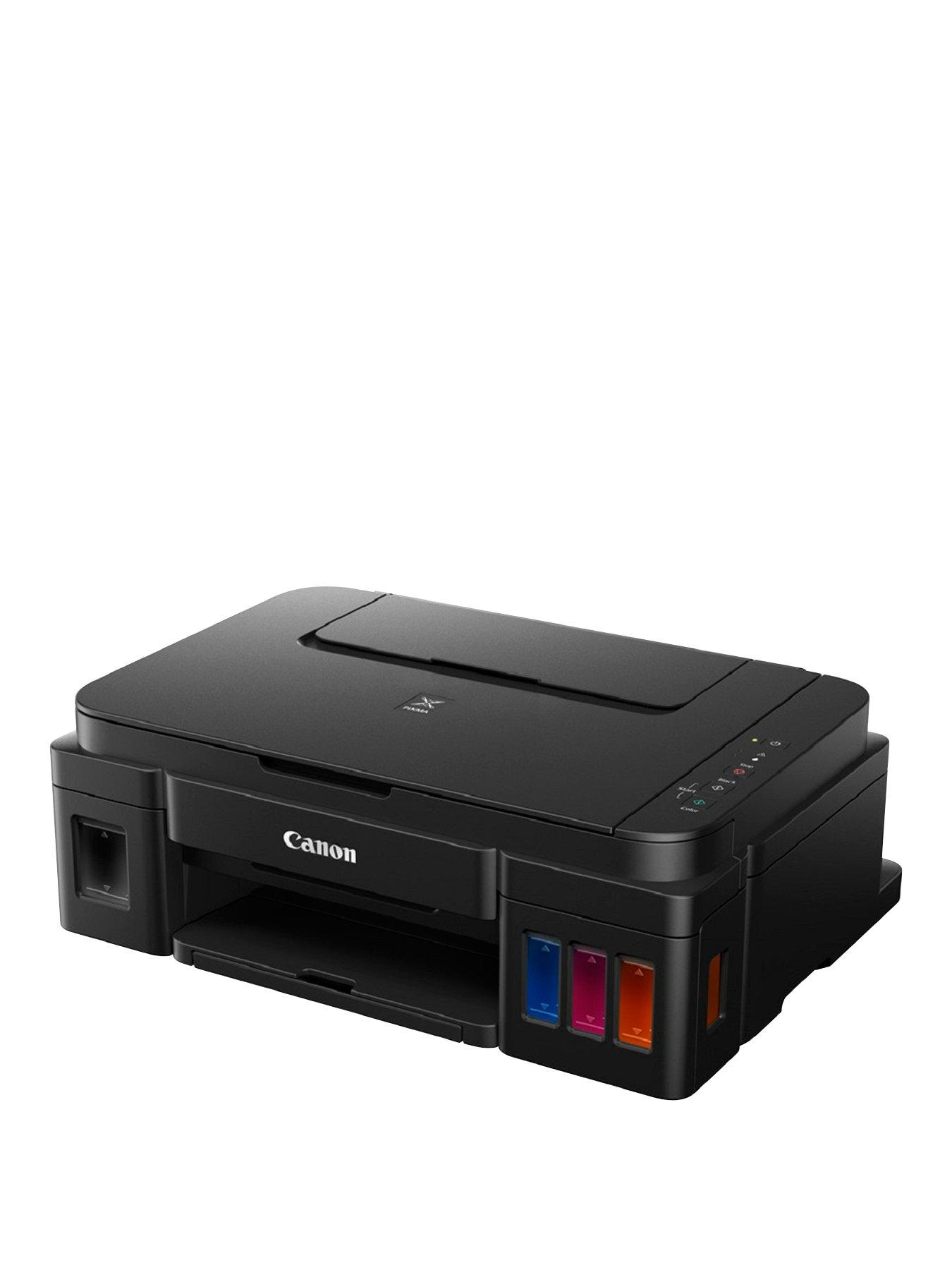 Canon PIXMA G2501 colour multifunction refillable ink printer