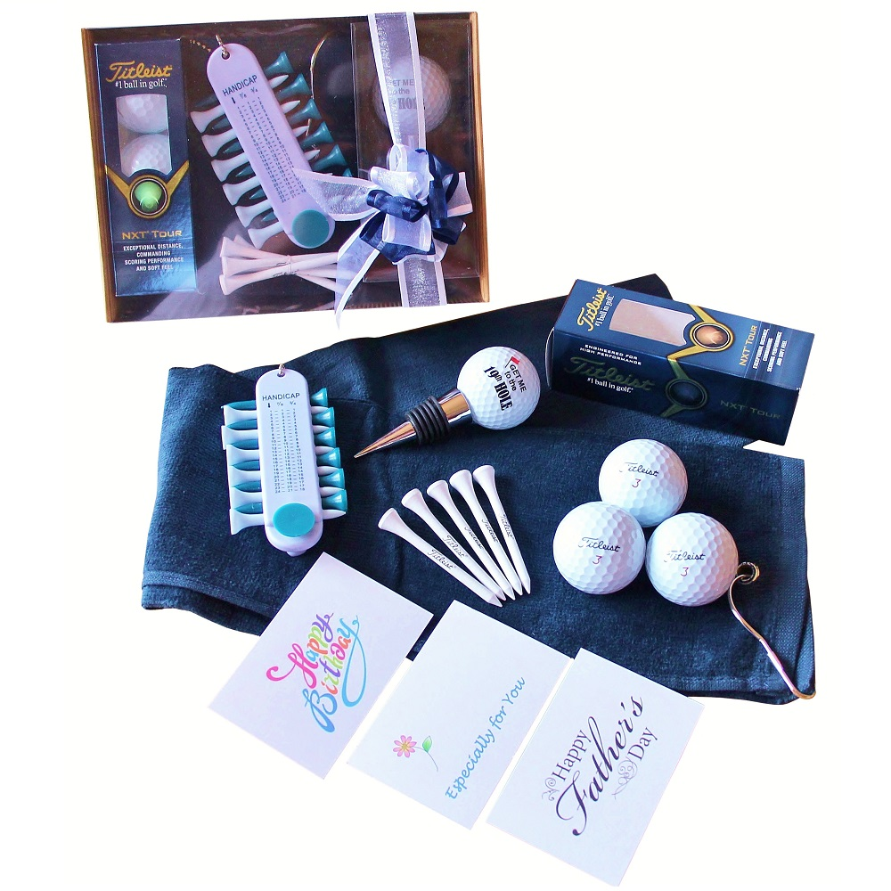 Golfers Gift Set - Blue