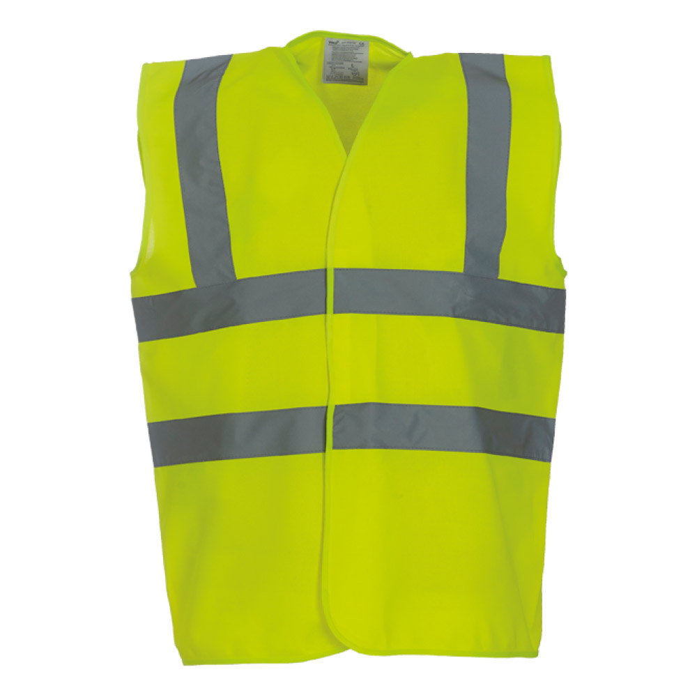 High Visibility Yellow Safety Vests