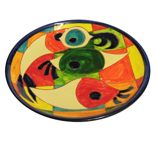 Moderno Pez Spanish Ceramics  side plate