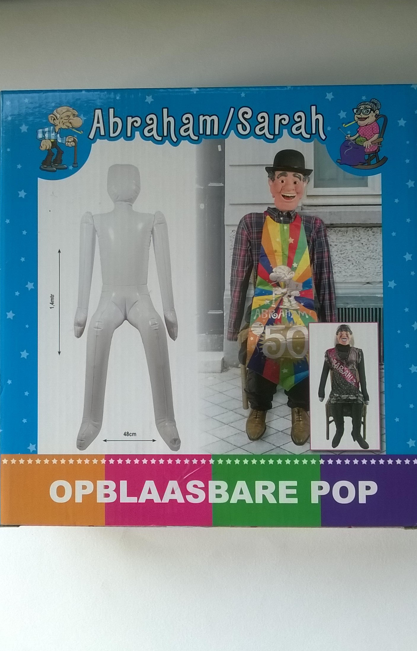 Opblaasbare pop