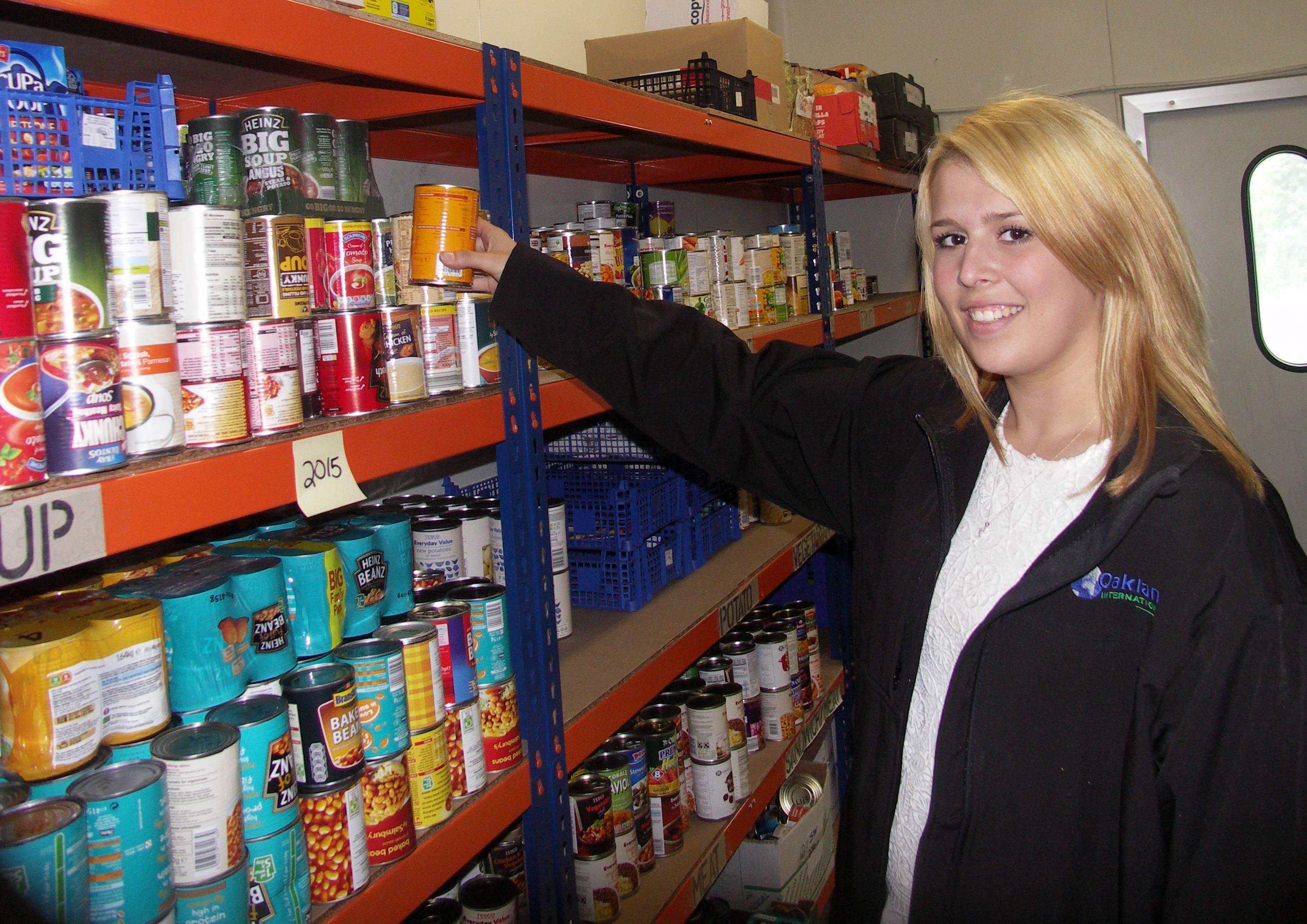Redditch Food Bank Demand Increases