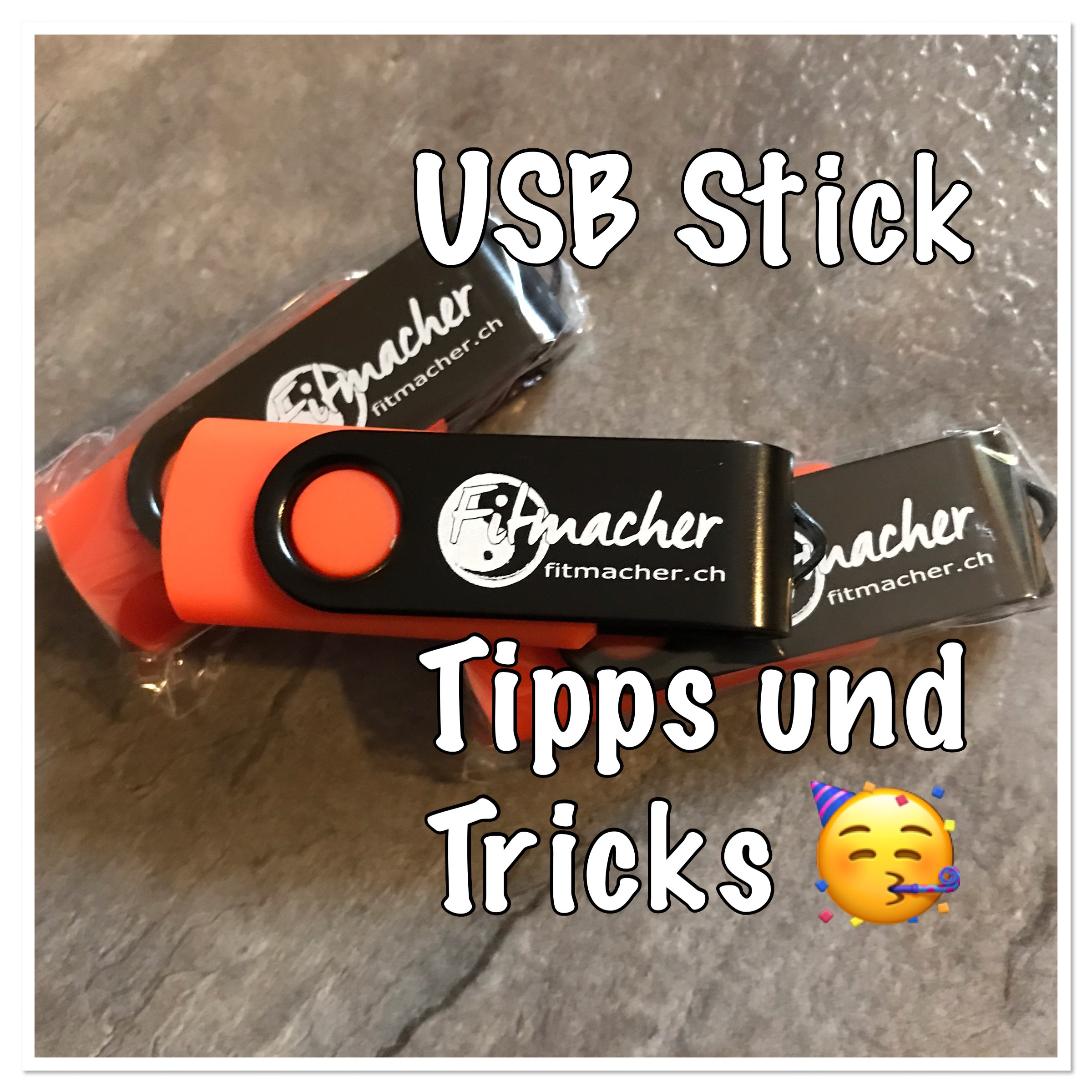 USB Stick mit Home Workouts - Limited Edition