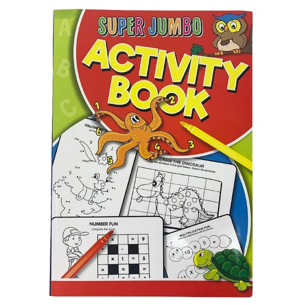 Super Jumbo Activity Book