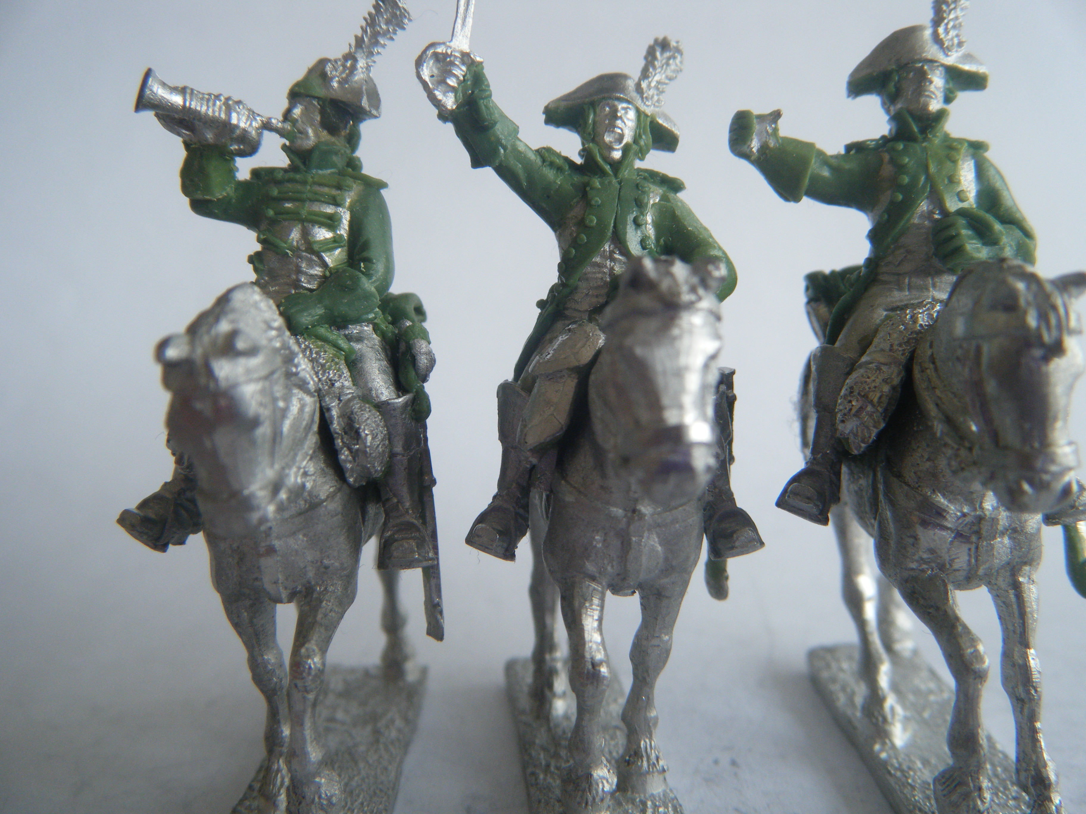 French Heavy Cavalry Command