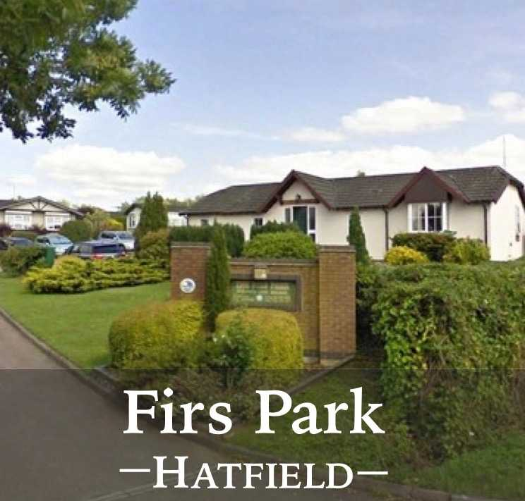 Link to The Firs Park, Hatfield, Hertfordshire, quality park home living page