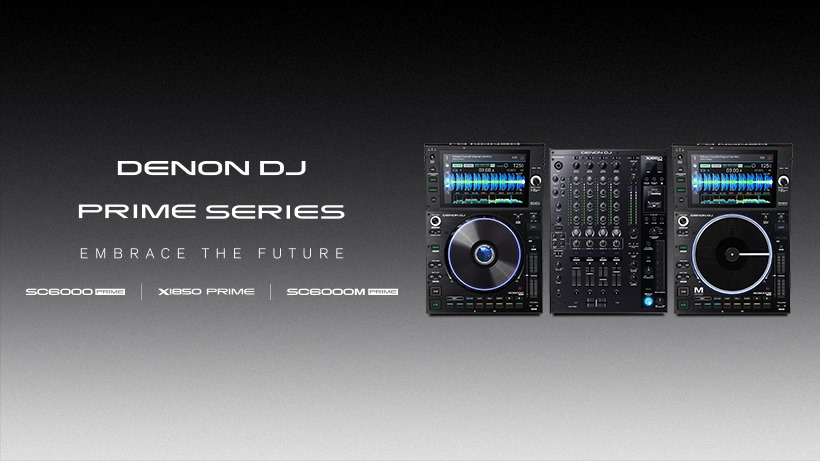 Denon DJ SC6000 + SC6000M Media Players